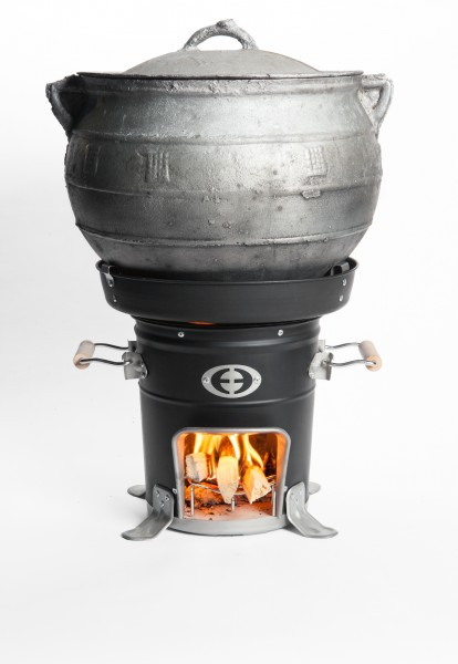 SuperSaver GL Wood Cookstove with Large Round Pot