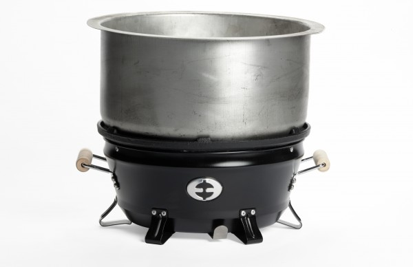 GoGrill Saver Charcoal Stove with Pot