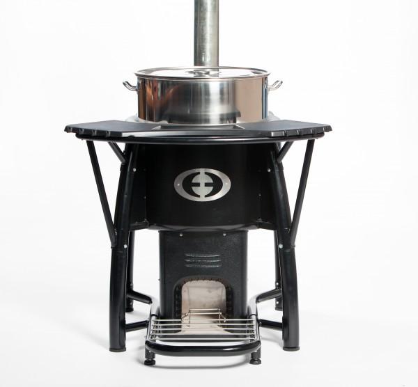 SaverPro 100 Wood Cookstove (Front)