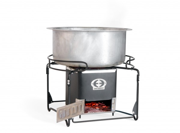 SmartSaver Charcoal Stove with Cooking Pot