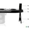 Double Pot Cookstove Attachment Features