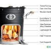 SuperSaverGL Wood Stove Features