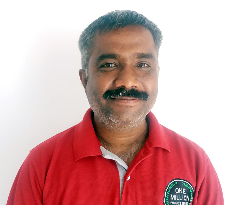 Envirofit India salesman Mangesh Ayawale