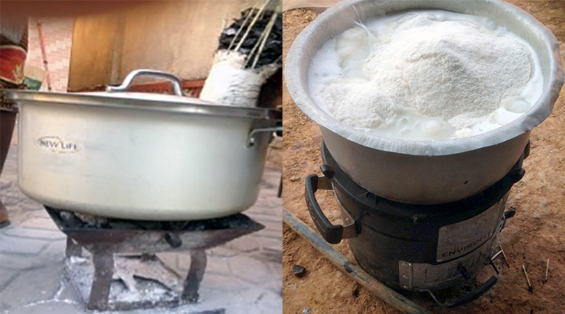 Local cookstove tested against Envirofit's SuperSaver Charcoal Stove
