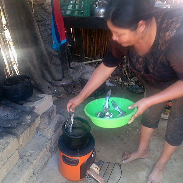 Envirofit cookstove used for first time in Lambayeque Region of Peru