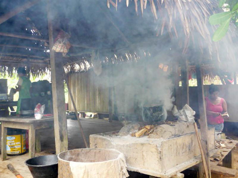Traditional Cooking Pot in the Peruvian Amazon
