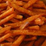 Crispy Sweet Potatoes Recipe