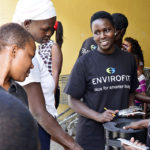 Women's Empowerment Program graduates sell cookstoves in Kenya
