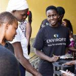 Women's Empowerment Program graduates sell cookstoves in Kenya
