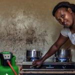 Cecilia Wanjiku cooks on her SmartGas LPG cookstove