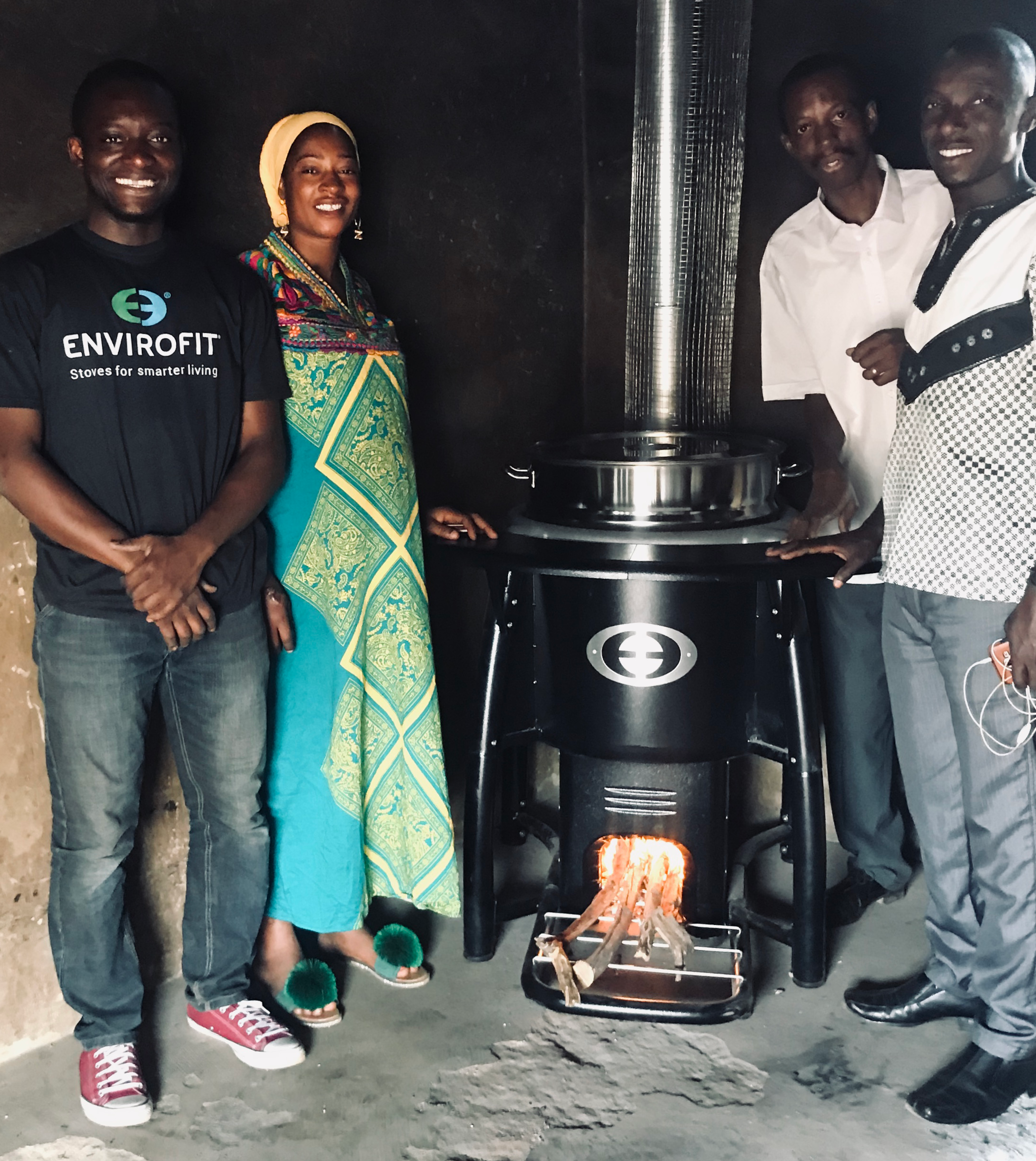 Retrofitting School Kitchens in Ghana - Envirofit